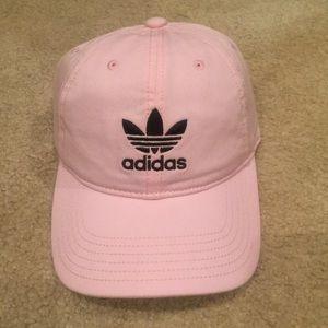 Adidas pink baseball cap